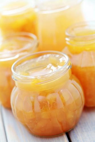 Confitures à la citrouille et aux abricots