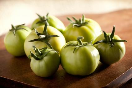 Marinade aux tomates vertes