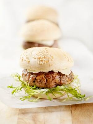 Miniburgers d'agneau à la menthe