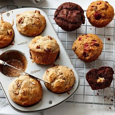 Muffins Aux Pommes Aux Framboises Et A L Erable Chatelaine