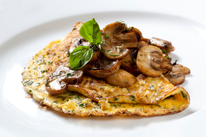 omelettes individuelles aux champignons et au fromage riopel ch telaine. Black Bedroom Furniture Sets. Home Design Ideas