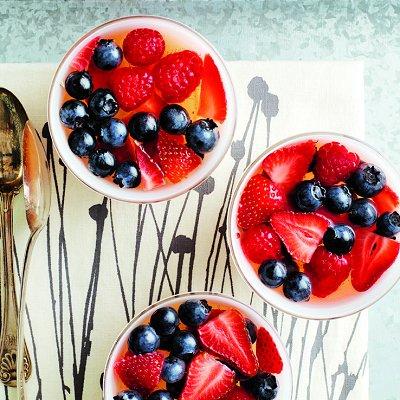 gel e de miel vanill e aux petits fruits rouges ch telaine. Black Bedroom Furniture Sets. Home Design Ideas