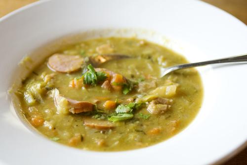 Soupe aux pois verts (Hollande) - Châtelaine