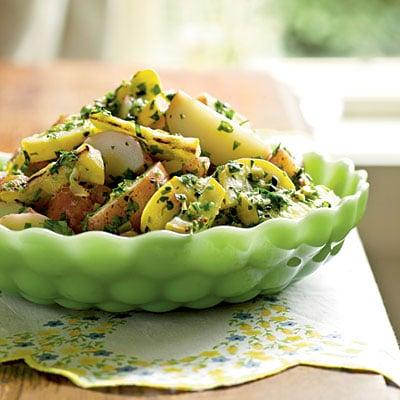 Salade de pommes de terre traditionnelle