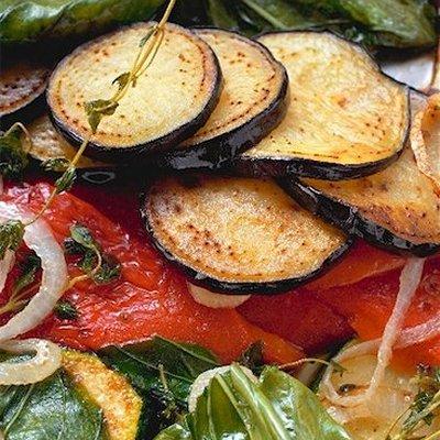 Panini de légumes grillés