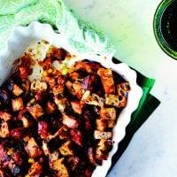 Farce à la saucisse et aux raisins secs