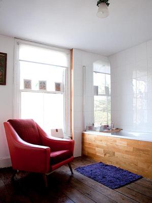 Tendance salle de bain: chaleureux bois