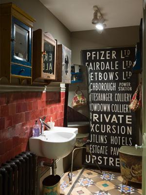 Tendance salle de bain: rétro, au goût du jour