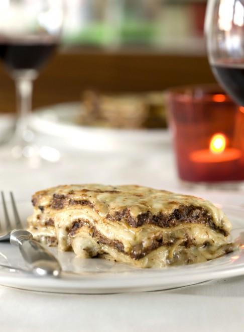 Lasagne aux champignons de Stefano Faita - Châtelaine