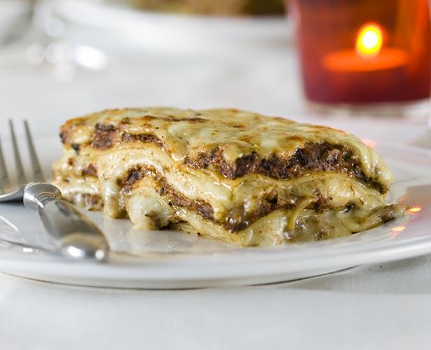 Lasagne aux champignons de Stefano Faita