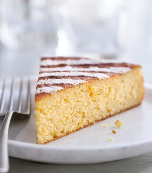 Cake orange et amandes