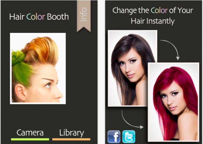 cette application gratuite regroupe des vidos tutoriels en anglais donc certaines les bases de maquillage et de coiffure - Logiciel Coloration Cheveux Gratuit