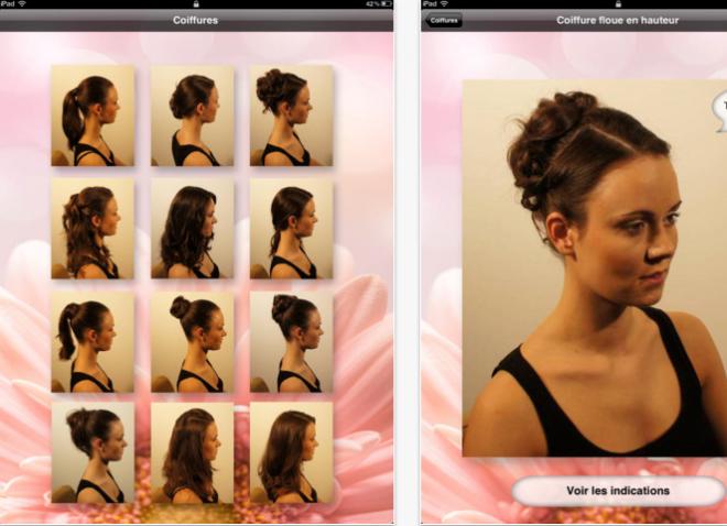 essayage de coupe de cheveux virtuel