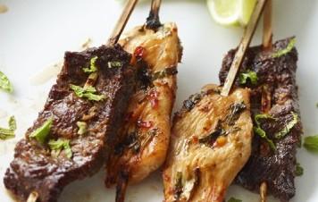 Brochettes de bœuf à la vietnamienne