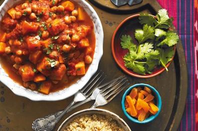 Ragoût de légumes à la marocaine