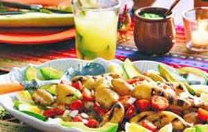 Salade latine criolla