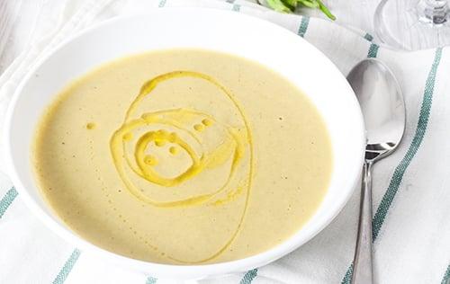 Crème de pommes de terre