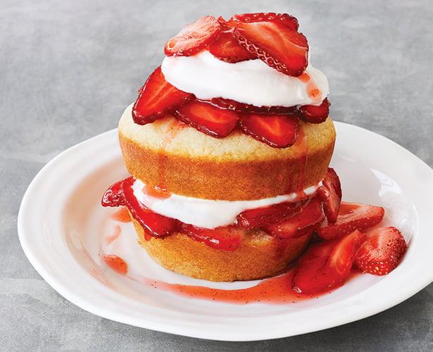 Minishortcakes aux fraises