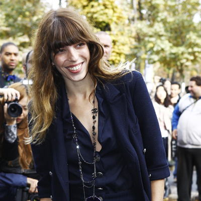 Celebs At Chanel Spr/Sum 2013 Paris Fashion Week