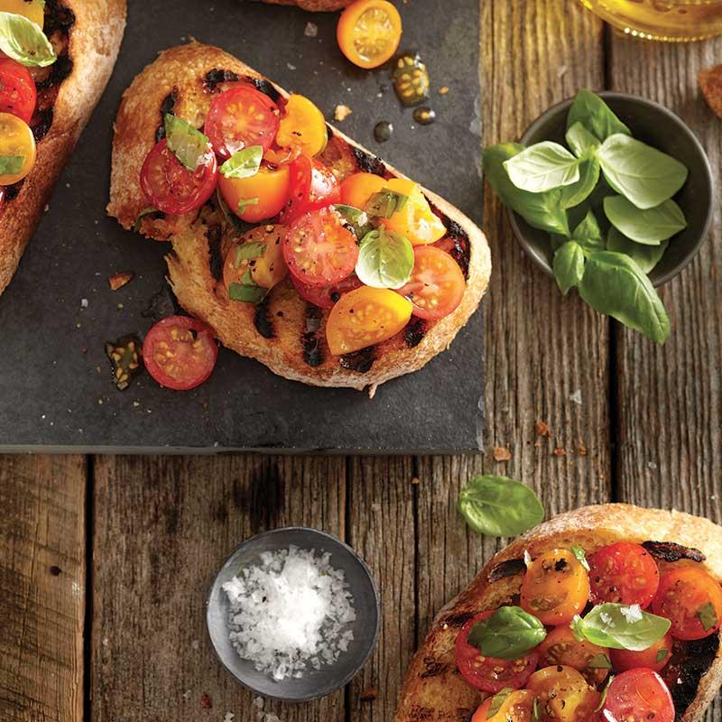 Bruschettas-Tomates-Cerises
