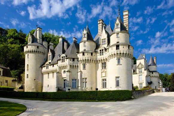 Chateau d'Usse 10 лучших замков Франции
