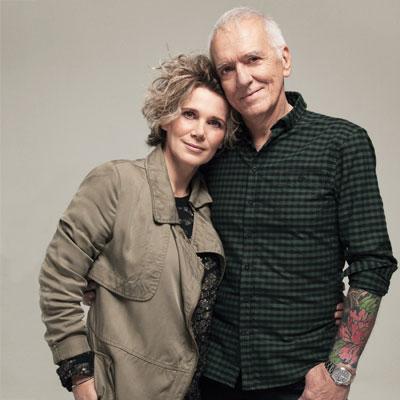 Caroline Dumas, 46 ans, chef, et Roger Frappier,69 ans, producteur