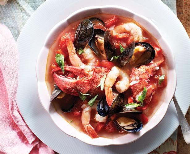 Ragoût de fruits de mer à l'italienne
