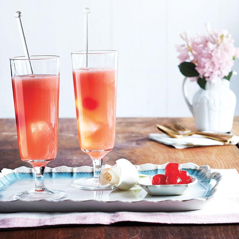 Cocktail-rhubarbe
