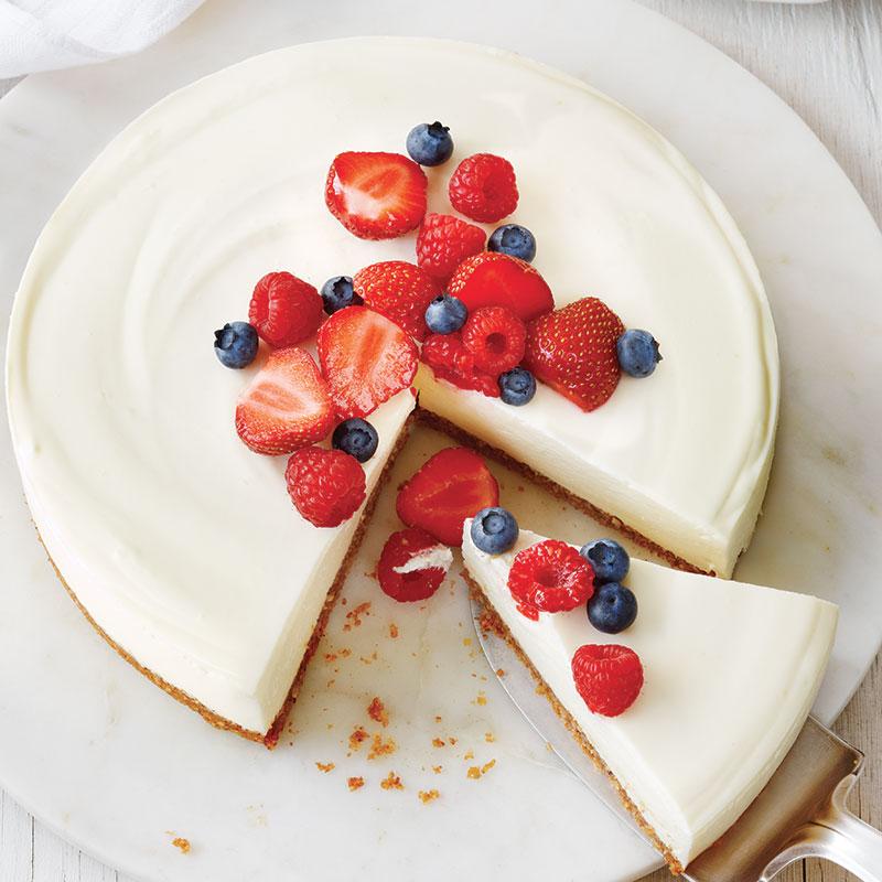 Gâteau Au Fromage Et Aux Petits Fruits Châtelaine