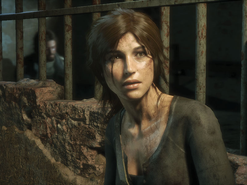 Lara Croft, héroïne de la série Tomb Raider. (photo: Microsoft XBox)