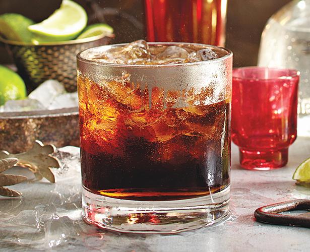 Téquila lime et cola