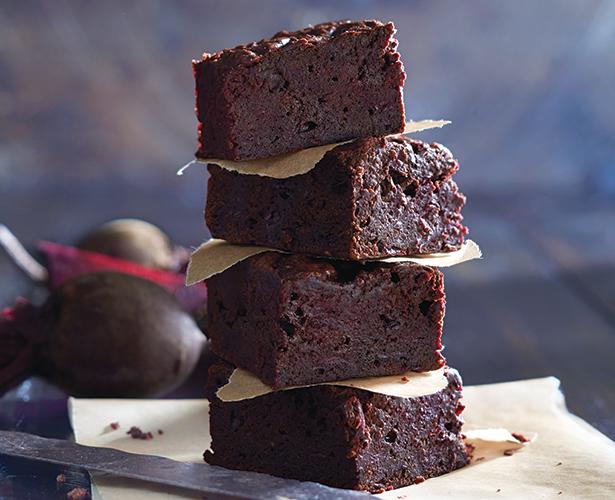 Brownies à la betterave