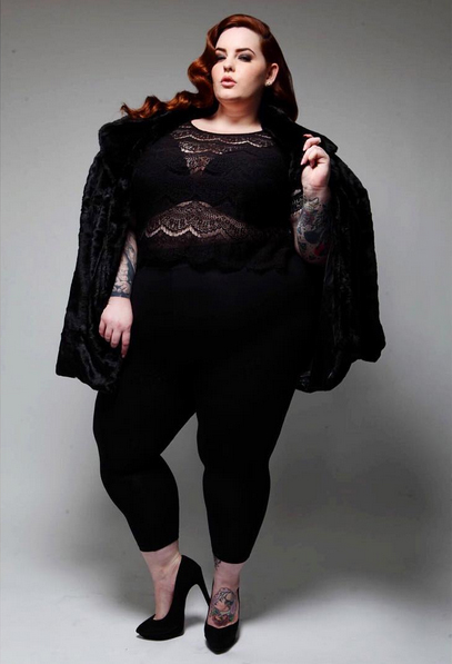 La mannequin Tess Holliday. Photo: Instagram