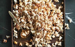 Popcorn sucré-salé au paprika fumé