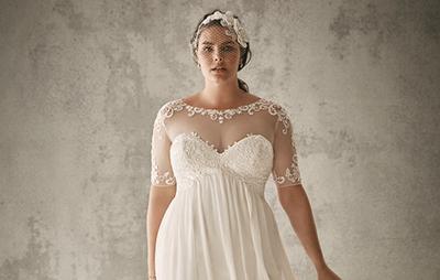 Où trouver des robes de mariée taille plus?