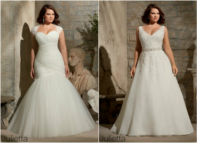 Robe mariee taille forte montreal