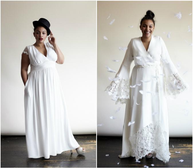 Ou trouver robe de mariee vintage id es et d 39 inspiration for Robes formelles plus la taille pour les mariages