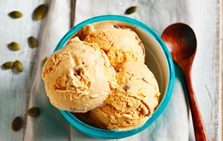Crème glacée à la citrouille