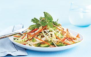 Salade thaïe au poulet