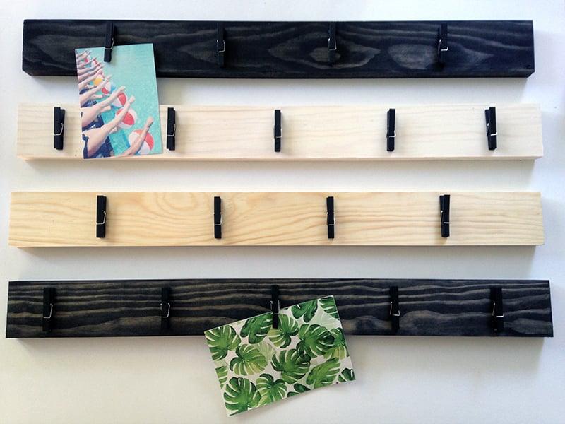 DIY de porte-photos en bois
