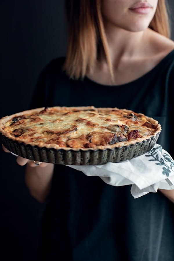Tarte à la lasagne végétarienne