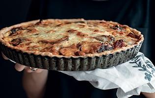Tarte à la lasagne végétarienne de 3 fois par jour