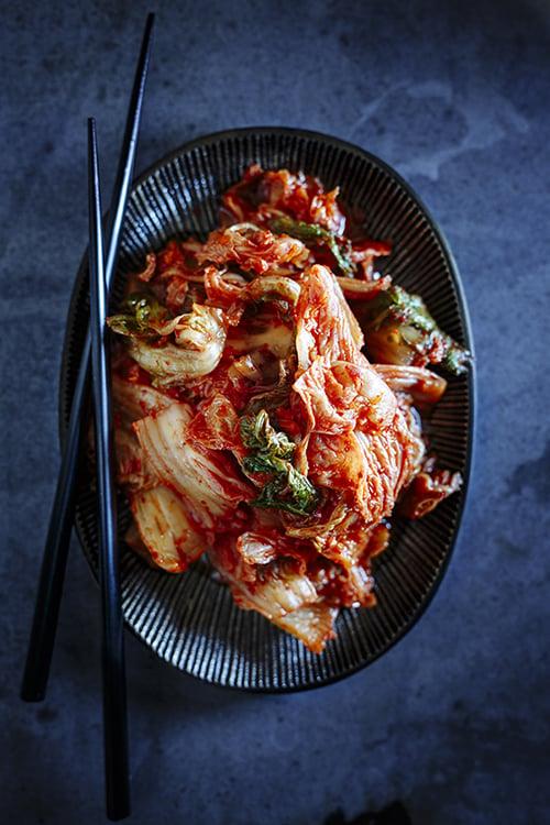 C'est bon, le <i>kimchi</i>