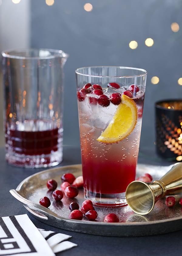 Cocktail Sans Alcool Aux Canneberges Chatelaine