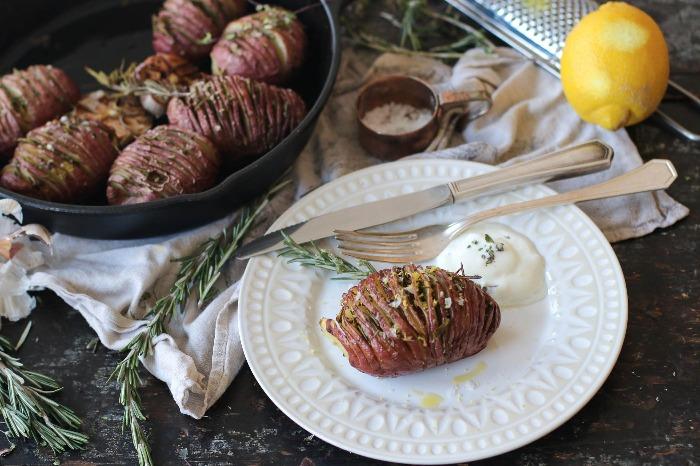 Pommes de terre hasselback_700x466