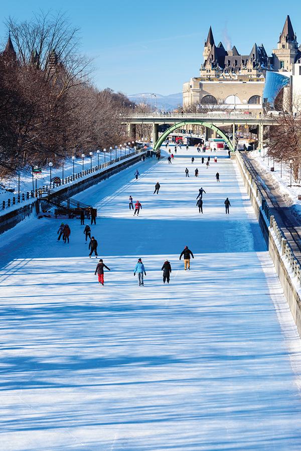 activités patiner canal rideau 600x899