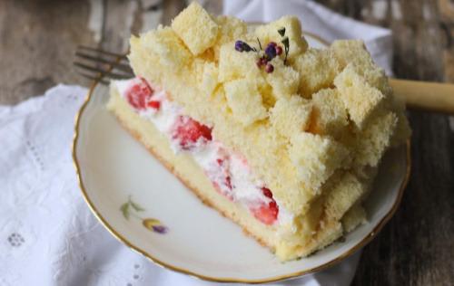 Gâteau mimosa