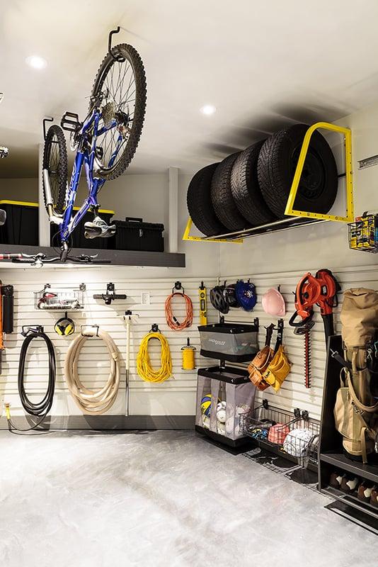 Voir le garage comme une pièce de la maison
