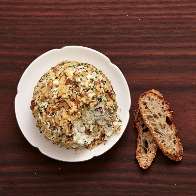 Boule de fromage à la grecque