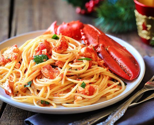 Spaghetti au homard du Joe Beef